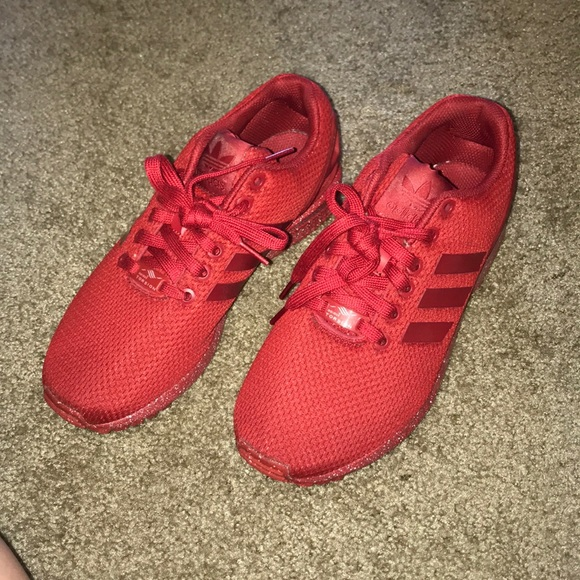 pretty nice 6a65d 5dbcc red adidas torsion PRICE FIRM